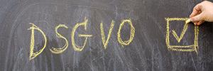 Foto der Datenschutzrichtlinien der DSGVO
