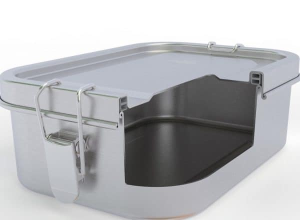Modeldarstellung der Lunchbox Dichtungssystem